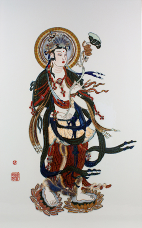 遊戯観音2013年陳棣(Chen Di)作
